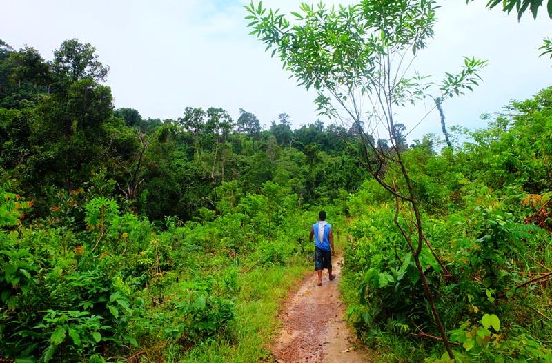 Palawan trekking